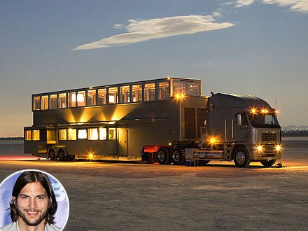 Ashton Kutcher's trailer