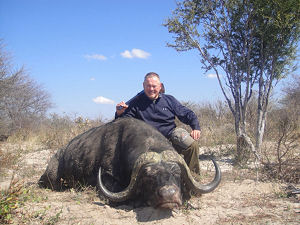 Bob Parsons killed a gnu. A gnu! (facepalm)