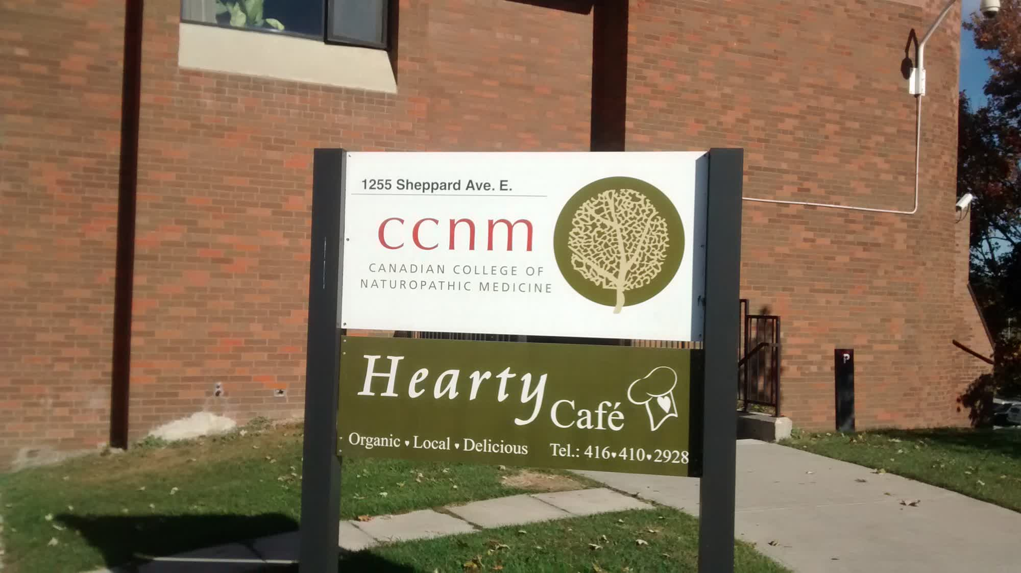 Hearty Cafe at the Naturopathic College
